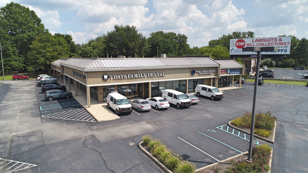 Paragon Realty | Southport at the Crossing, Indianapolis, retail center