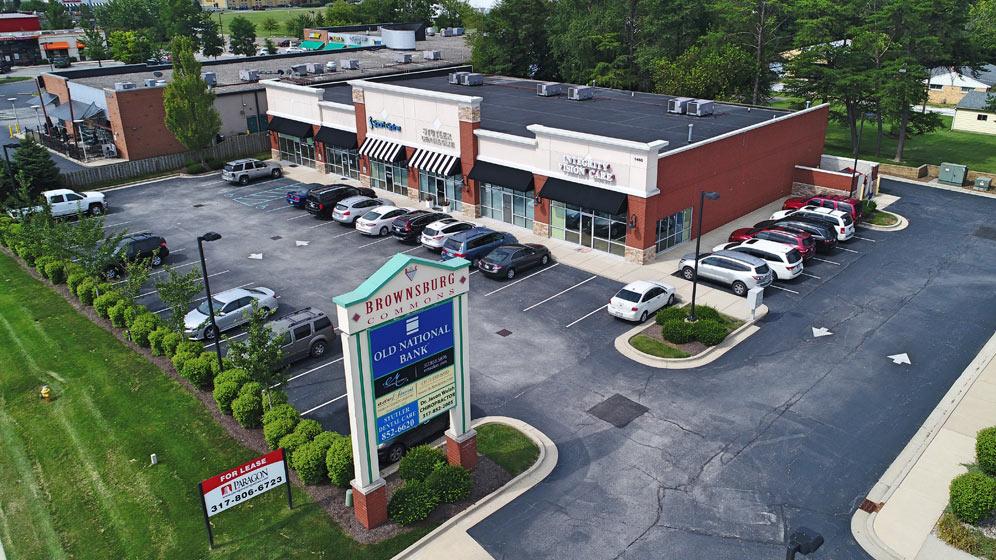Paragon Properties   Brownsburg Commons Retail Center   retail real estate development