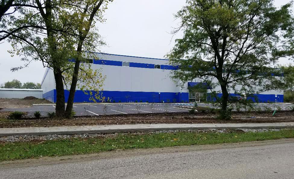 Paragon Realty   Calderon Textiles-RAS Industrial Warehouse   development and construction