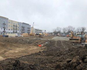 Brownsburg, Indiana   Green St. Depot Commercial Development Infrastructure Work   Paragon Companies