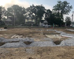 Building Foundation | Green St. Depot | Brownsburg
