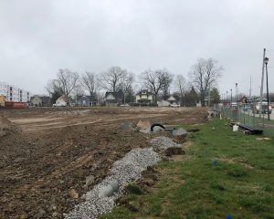 Commercial Development Infrastructure for Green St. Depot in Brownsburg, Indiana   Paragon Companies