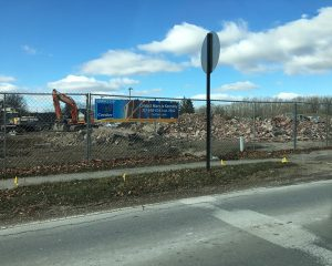 Demolition and site prep for Green St. Depot in Brownsburg, Indiana | Paragon Development