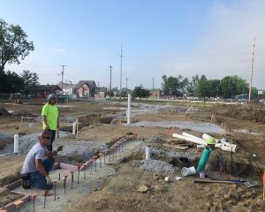 Green St. Depot   Building Foundation   Paragon Development