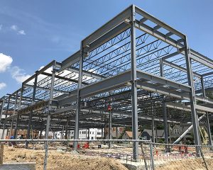 Green St. Depot | Building Steel | Paragon Companies