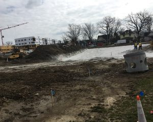Site Construction on Green St. Depot in Brownsburg, Indiana | Paragon Companies