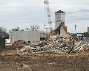 Construction demolition for commercial office building | Paragon Realty