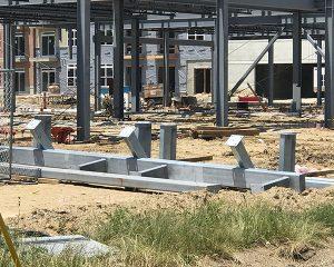 Paragon Development   Green St. Depot   Building Steel