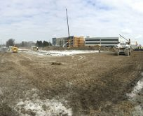 Paragon Development   Green St. Depot   Construction Site Infrastructure