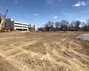 Paragon Development | Green St. Depot | Brownsburg, Indiana | Site Construction | Looking East