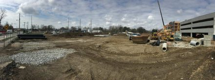 Paragon Development | Green St. Depot Site Construction Work in Brownsburg, Indiana