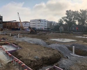 Paragon Development | Green St. Depot | Building Foundation