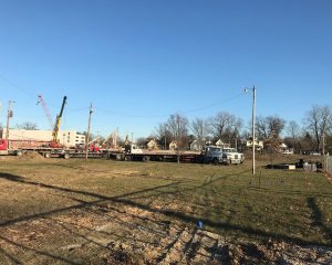 Paragon Realty | Green Street Depot Construction in Brownsburg, Indiana