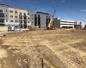 Site Looking North | Paragon Development | Green St. Depot