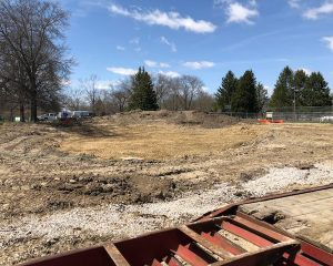 Site Looking West | Green St. Depot | Paragon Companies